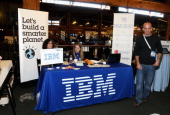 IBM exhibit at Day 1 of TechCrunch Disrupt SF 2011 held at the San Francisco Design Center Concourse on September 12 2011 in San Francisco California