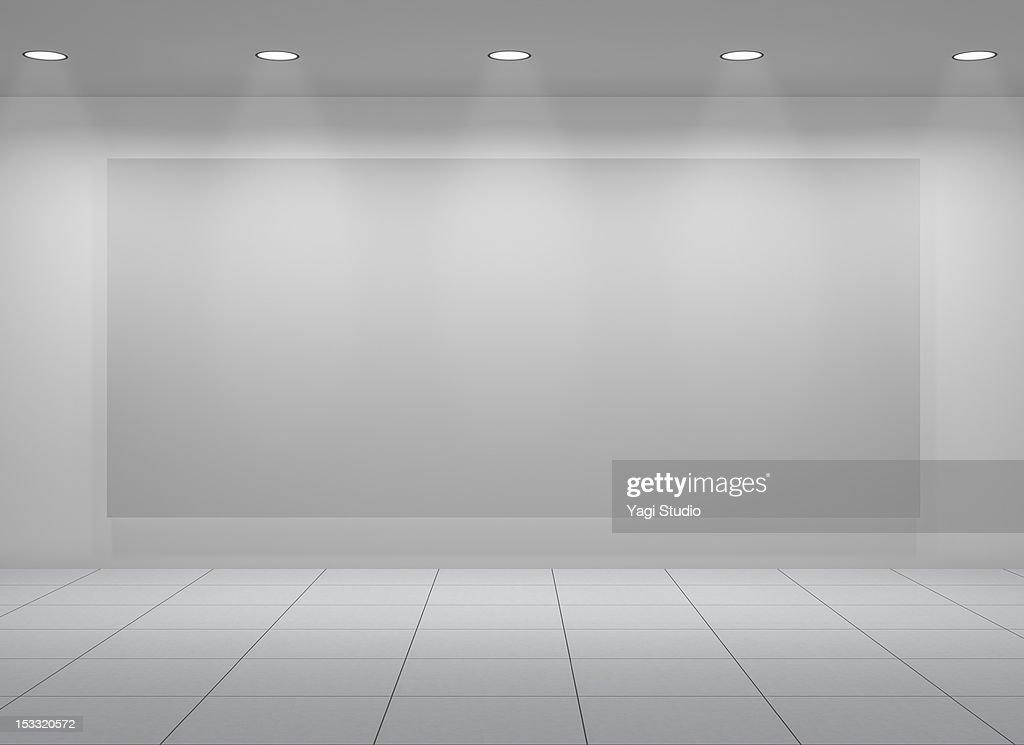 Exhibit space : Stock Photo