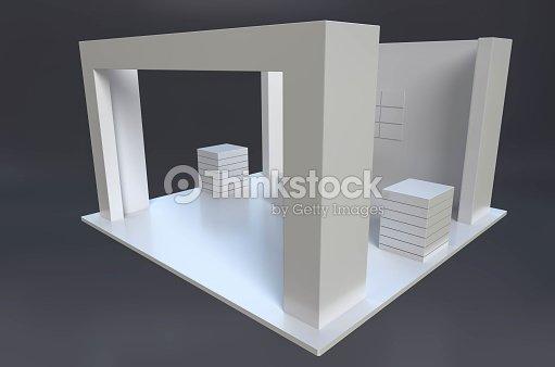 Exhibition Stand Template : Exhibition stand template foto stock thinkstock