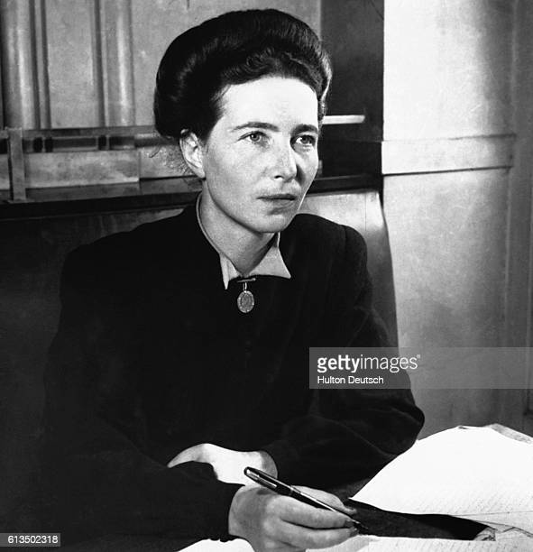 Existentialist writer Simone De Beauvoir was well known for her feminist work 'The Second Sex' She studied at the Sorbonne with existentialist...