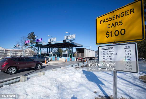 Exit 48 toll booth Gov Paul LePage has stated that he would like to eliminate tolls on the turnpike with the exception of the York toll