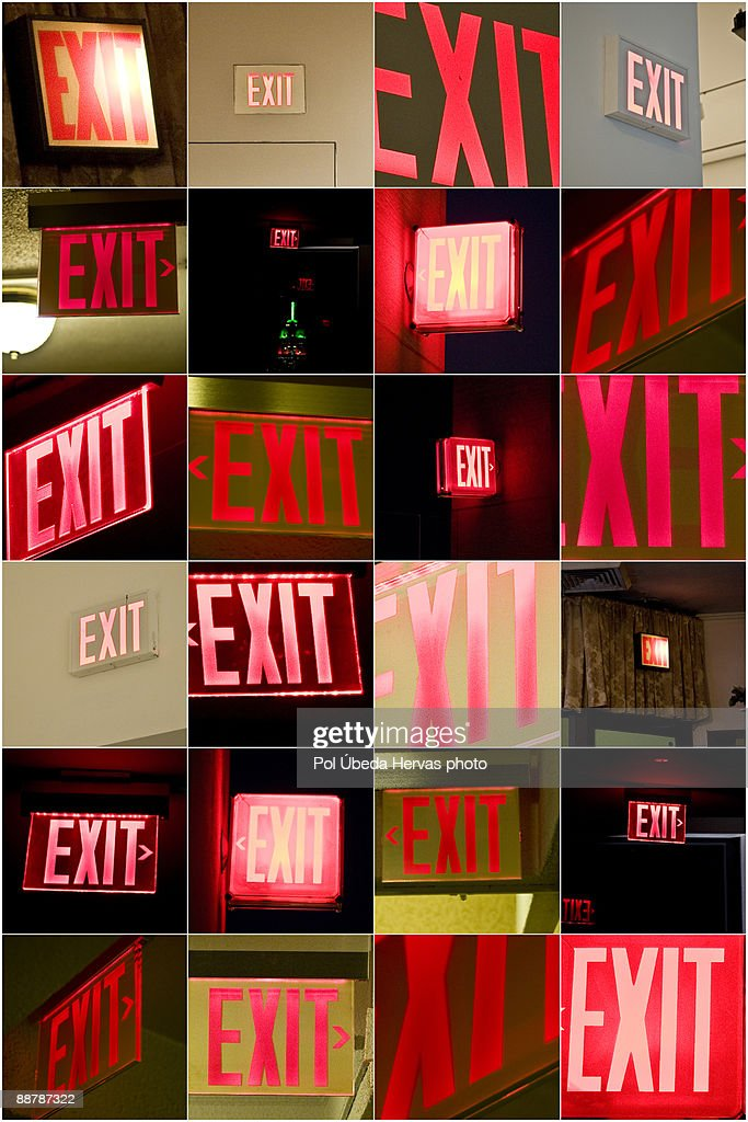 Exit exit and exit