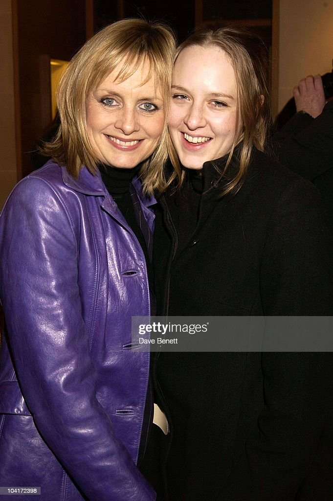 Exmodel Twiggy With Her Daughter, Burberry Plays Host To Rudolph Giuliani & His Party, Burberry, Bond Street, London.