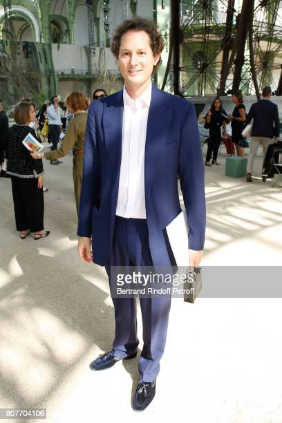 Exor CEO John Elkann attends the Chanel Haute Couture Fall/Winter 20172018 show as part of Haute Couture Paris Fashion Week on July 4 2017 in Paris...