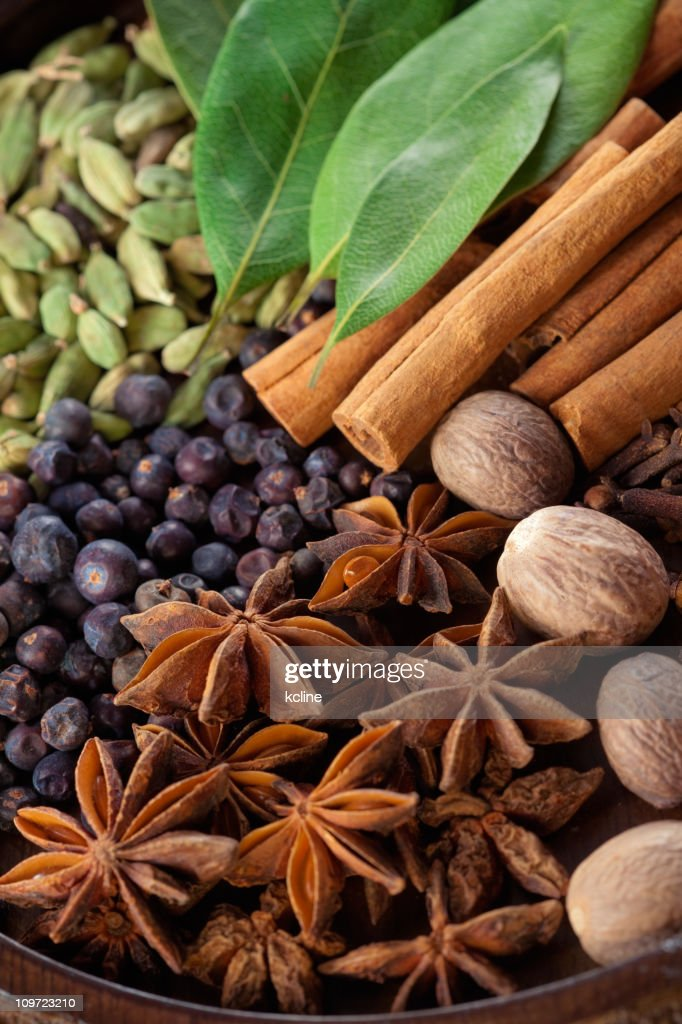 Exotic Spices : Stock Photo