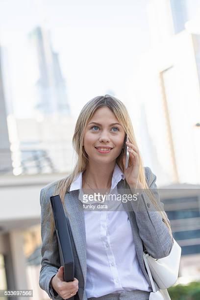 Expat woman in Dubai