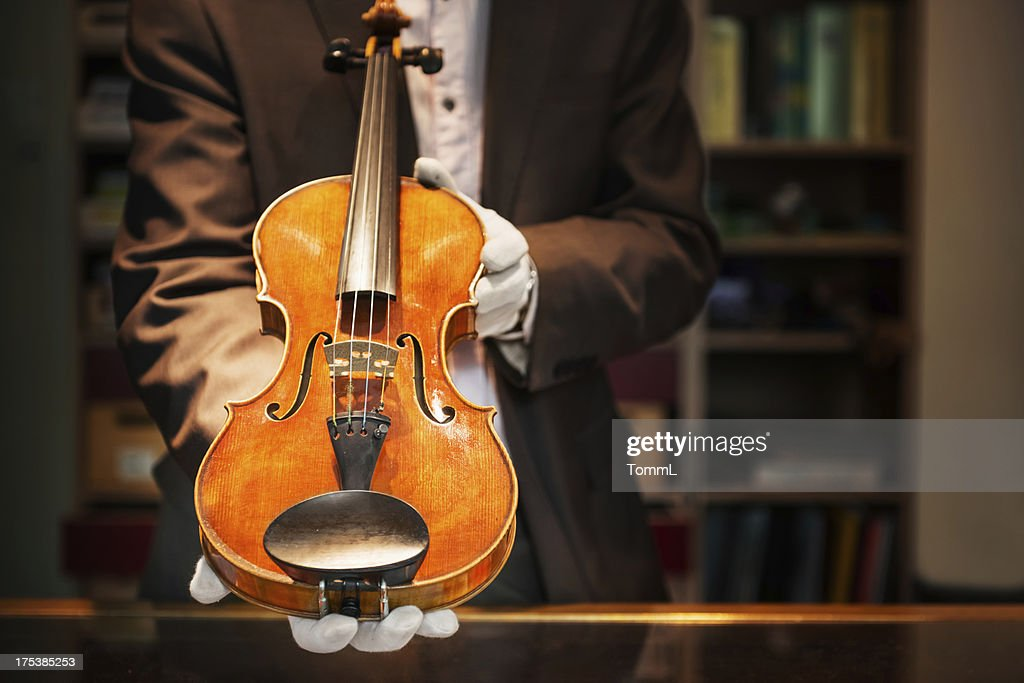 Expensive Violin