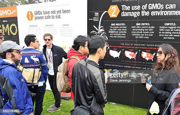 Experience Cultivate Exhibit is seen during Chipotle's Cultivate San Francisco Food Music and Ideas Festival at Golden Gate Park on June 7 2014 in...
