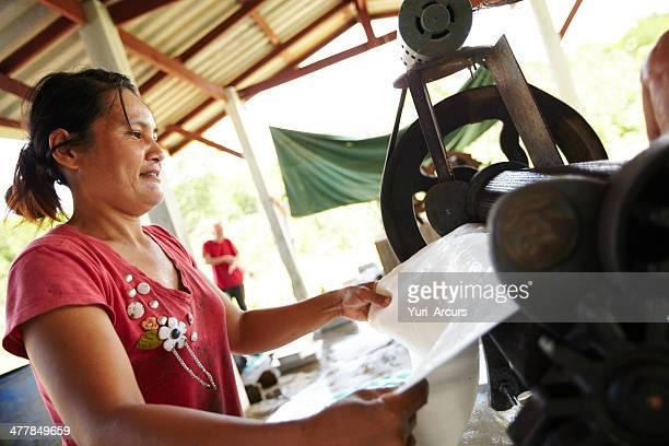 Erfahrene Thai-Arbeiter