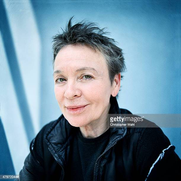 Experimental performance artist composer and musician is photographed Laurie Anderson for Globe and Mail on June 15 2015 in Toronto Ontario