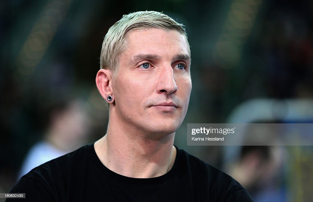 Expert Stefan Kretzschmar during the match between Germany and Bundesliga All Stars on February 2, 2013 in Leipzig, Germany.
