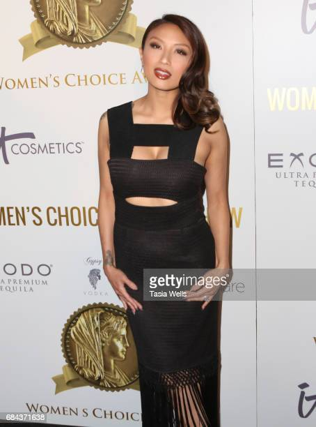 Expert stylist and TV personality Jeannie Mai attends the Women's Choice Award Show at Avalon Hollywood on May 17 2017 in Los Angeles California