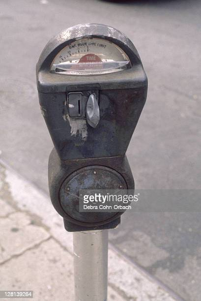 Expired parking meter, NYC, NY