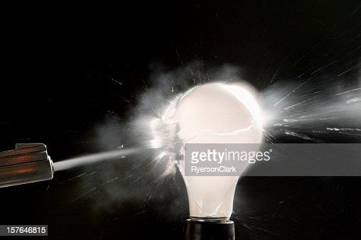 Exploding Light Bulb.