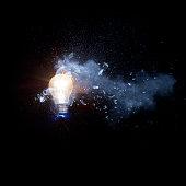 exploding lightbulb 03