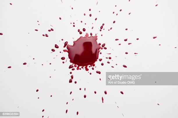 Exploding of blood