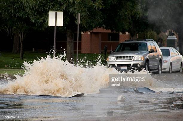 Explodieren Wasser Hauptgründe Überschwemmungen