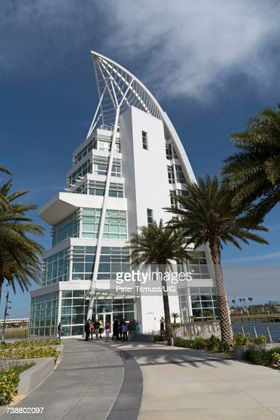 Exploration Tower at Port Canaveral Florida