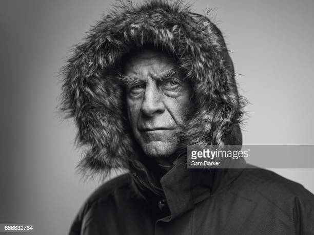 Explorer and writer Ranulph Fiennes is photographed for British Airways magazine on November 3 2016 in London England