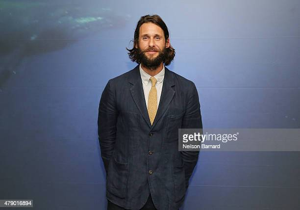 Explorer David de Rothschild attends the United Nations x Parley For The Oceans Launch Event at the United Nations General Assembly Hall on June 29...