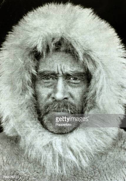 circa 1909 Robert Peary American explorer and naval officer who led the party that first reached the North Pole in 1909