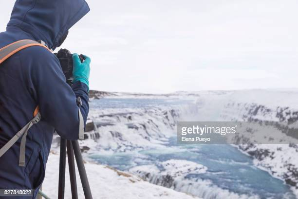 Exploring Iceland during the winter