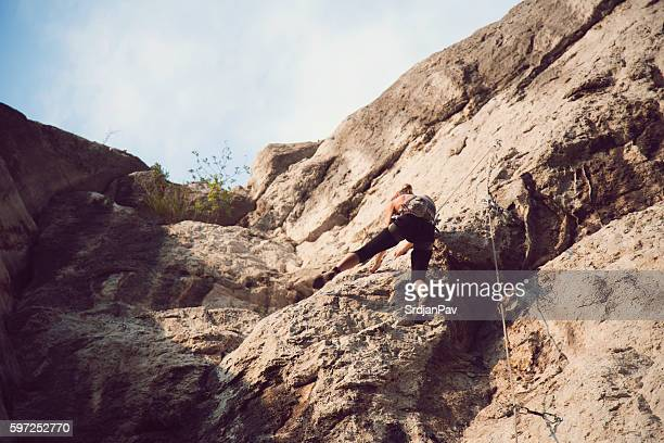 Exploring the rock