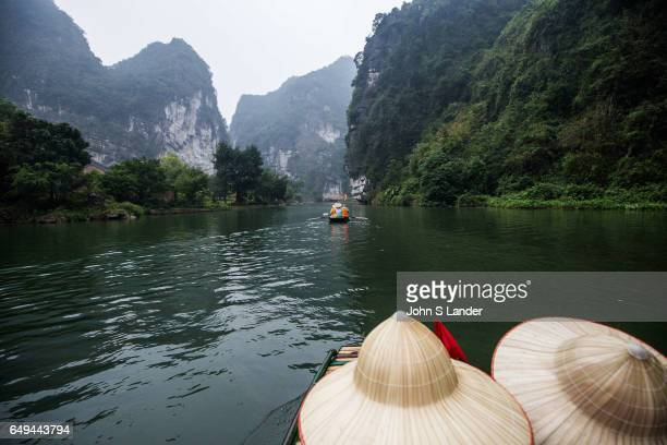 Exploring Trang An Landscape Complex by Boat made up of three distinct areas Hoa Lu Ancient Citadel Trang An and Tam Coc Bich Dong collectively...