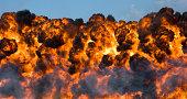 Explosion: Fireball and Smoke