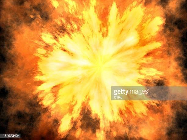3 D explosion