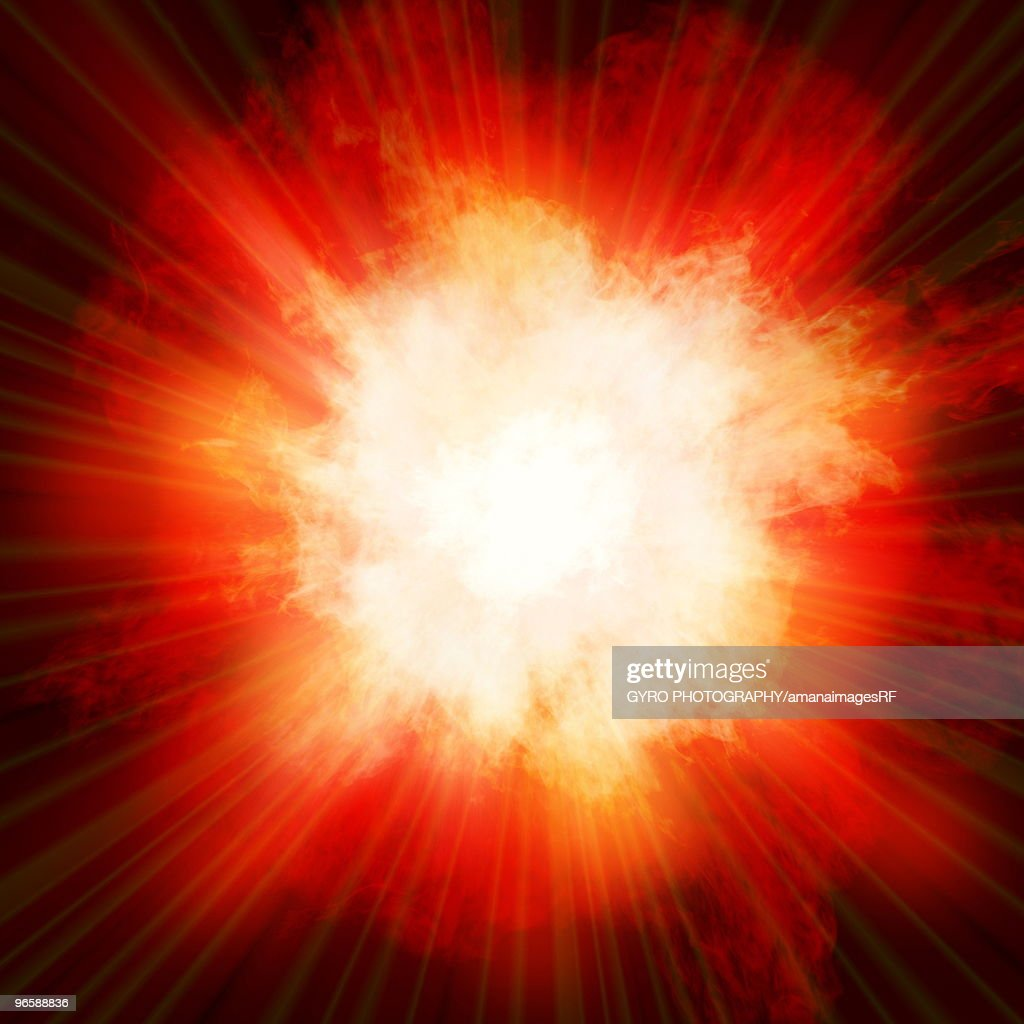 Explosion : Stock Photo