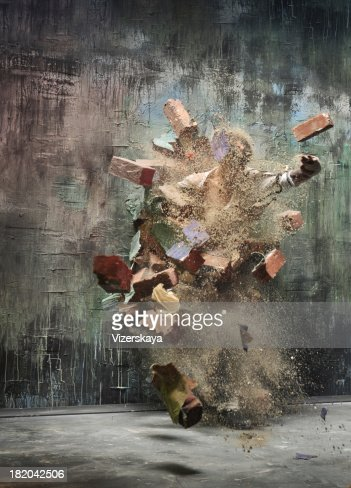 explosion wall