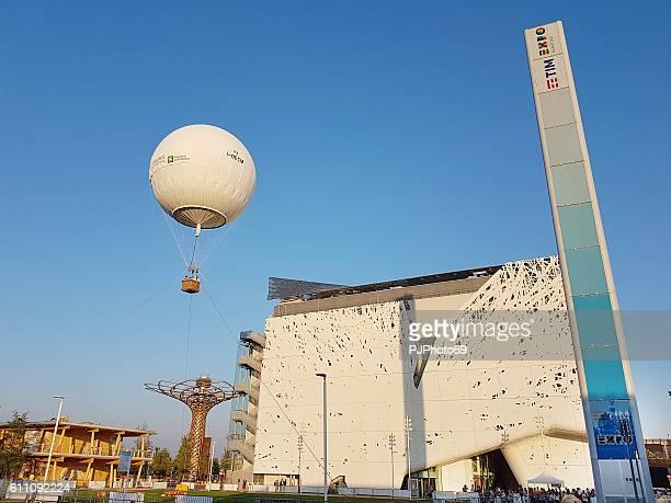 Expo Area in Milan in summer 2016
