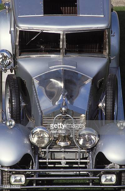 Expo'Cars For Princes' On September 13th 1992 Rolls Royce 'Twenty' Has Belonged To Maharajah Of Bharatpur In ParisFrance