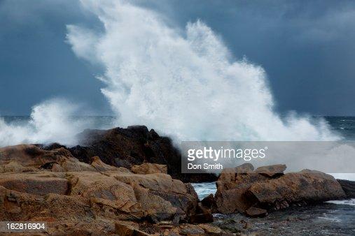 Expoding Wave : Stock Photo