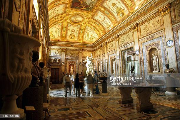 Exposition Gian Lorenzo Bernini at 'Villa Borghese' in Rome Italy on June 02 1998