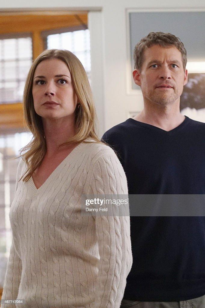REVENGE 'Exposure' Emily faces a promising future as Amanda Clarke until Victoria uncovers devastating new secrets from her past on 'Revenge' SUNDAY...
