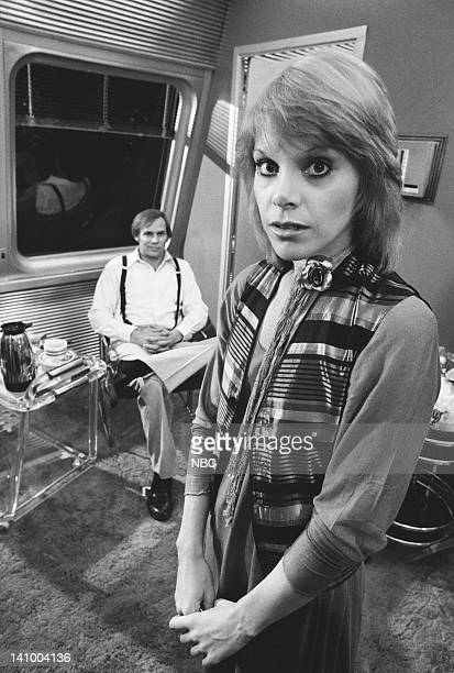 SUPERTRAIN 'Express to Terror' Episode 1 Aired 2/7/79 Pictured Don Stroud as Fisk Char Fontane as Cindy Photo by NBCU Photo Bank