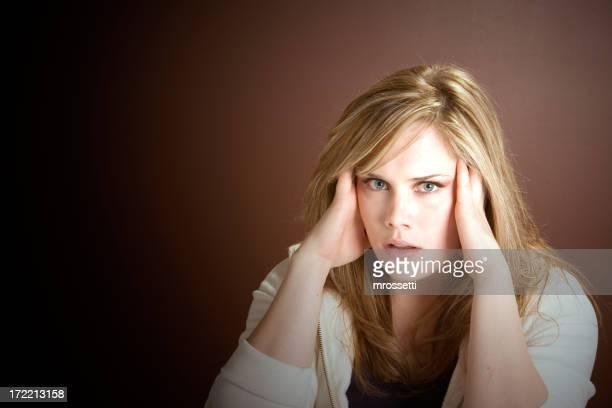 Expressive Eyes Series - Stressed