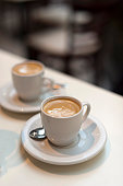 Expresso Coffee at the sidewalk cafe