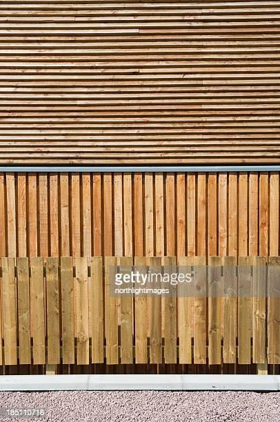 Exterior cladding & fence