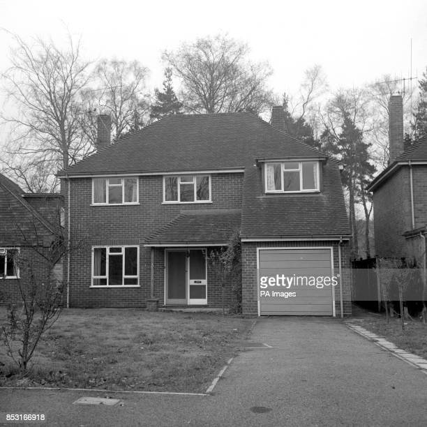 Exterior front view of No17 Silverdale Road Fleet which police raided the day after the attempt to kidnap Princess Anne and Captain Mark Phillips...