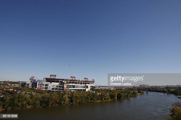 Exterior general view before the Tennessee Titans game against the Jacksonville Jaguars at LP Field on November 1 2009 in Nashville Tennessee