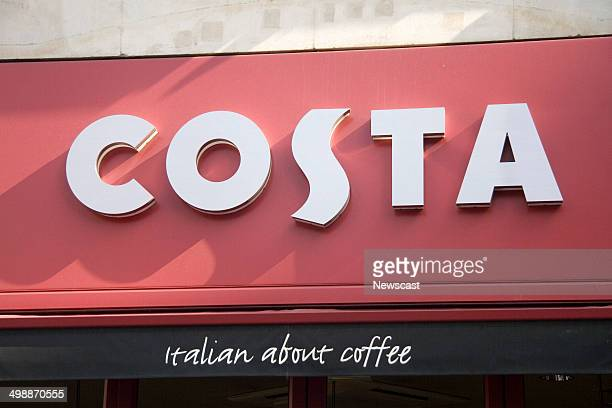 Exterior image of a Costa Coffee in Central London