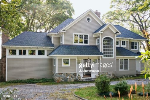 Exterior of a house : Stock Photo