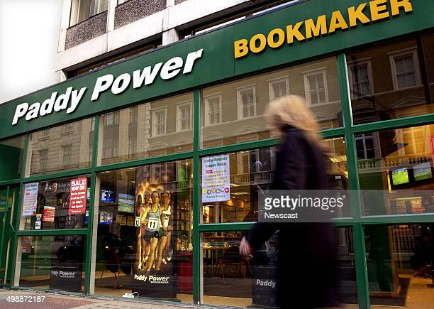 Exterior of a Paddy Power Bookmakers