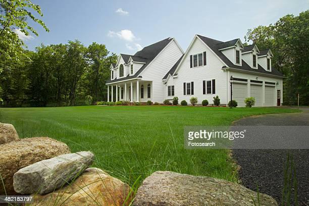 Exterior of a single family home