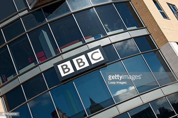 Exterior of BBC building in Hull Hull England