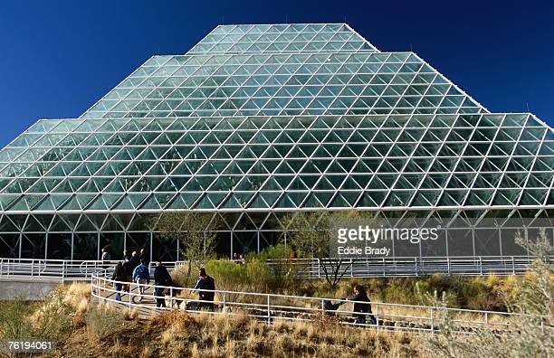 Exterior of Biosphere 2, Oracle, Arizona, United States of America, North America