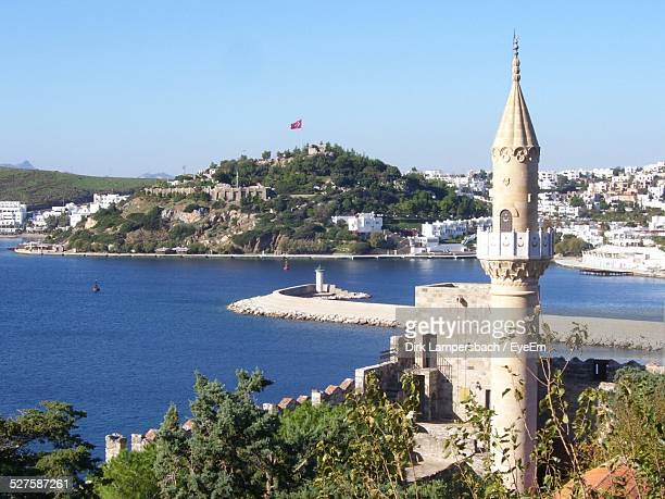 Exterior Of Bodrum Castle And Harbor
